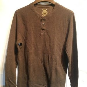 Brown Long Sleeved Shirt